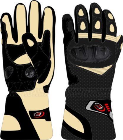 PB Dell V2 Motorcycle Gloves Knox SPS