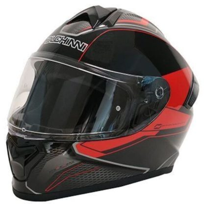 Duchinni D977 Motorcycle Helmet Red